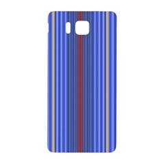 Colorful Stripes Background Samsung Galaxy Alpha Hardshell Back Case