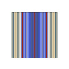 Colorful Stripes Background Satin Bandana Scarf