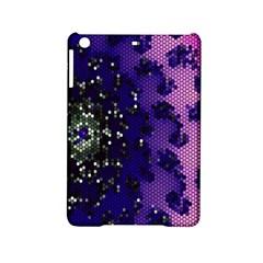 Blue Digital Fractal iPad Mini 2 Hardshell Cases