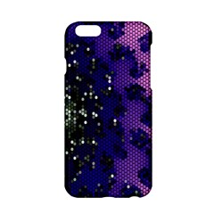 Blue Digital Fractal Apple Iphone 6/6s Hardshell Case