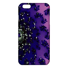 Blue Digital Fractal Iphone 6 Plus/6s Plus Tpu Case