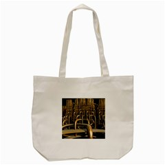 Fractal Image Of Copper Pipes Tote Bag (cream)