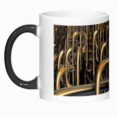 Fractal Image Of Copper Pipes Morph Mugs