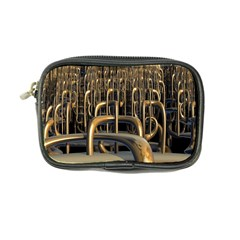 Fractal Image Of Copper Pipes Coin Purse