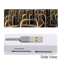 Fractal Image Of Copper Pipes Memory Card Reader (stick)