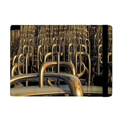 Fractal Image Of Copper Pipes Apple Ipad Mini Flip Case