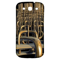 Fractal Image Of Copper Pipes Samsung Galaxy S3 S III Classic Hardshell Back Case