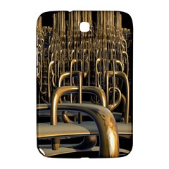 Fractal Image Of Copper Pipes Samsung Galaxy Note 8 0 N5100 Hardshell Case
