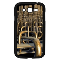 Fractal Image Of Copper Pipes Samsung Galaxy Grand Duos I9082 Case (black)