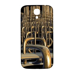 Fractal Image Of Copper Pipes Samsung Galaxy S4 I9500/i9505  Hardshell Back Case