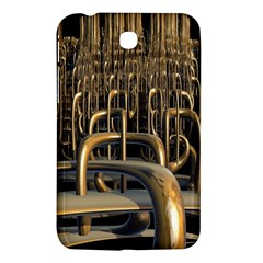 Fractal Image Of Copper Pipes Samsung Galaxy Tab 3 (7 ) P3200 Hardshell Case