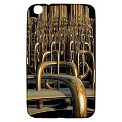 Fractal Image Of Copper Pipes Samsung Galaxy Tab 3 (8 ) T3100 Hardshell Case
