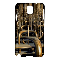 Fractal Image Of Copper Pipes Samsung Galaxy Note 3 N9005 Hardshell Case