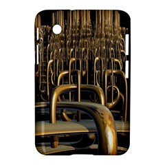 Fractal Image Of Copper Pipes Samsung Galaxy Tab 2 (7 ) P3100 Hardshell Case