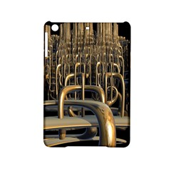 Fractal Image Of Copper Pipes iPad Mini 2 Hardshell Cases