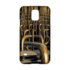 Fractal Image Of Copper Pipes Samsung Galaxy S5 Hardshell Case