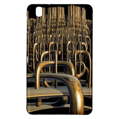 Fractal Image Of Copper Pipes Samsung Galaxy Tab Pro 8 4 Hardshell Case