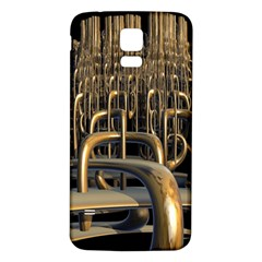 Fractal Image Of Copper Pipes Samsung Galaxy S5 Back Case (white)