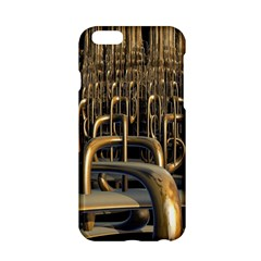Fractal Image Of Copper Pipes Apple Iphone 6/6s Hardshell Case