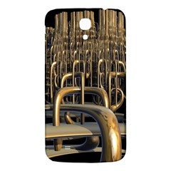 Fractal Image Of Copper Pipes Samsung Galaxy Mega I9200 Hardshell Back Case