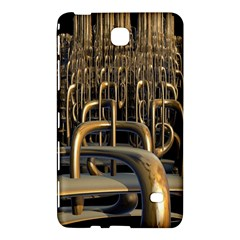 Fractal Image Of Copper Pipes Samsung Galaxy Tab 4 (8 ) Hardshell Case