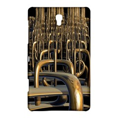 Fractal Image Of Copper Pipes Samsung Galaxy Tab S (8.4 ) Hardshell Case
