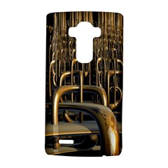 Fractal Image Of Copper Pipes Lg G4 Hardshell Case