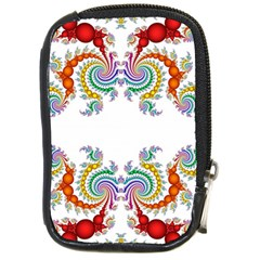Fractal Kaleidoscope Of A Dragon Head Compact Camera Cases