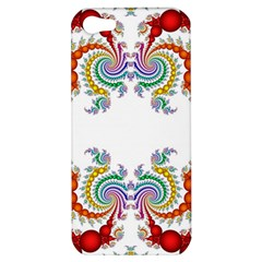Fractal Kaleidoscope Of A Dragon Head Apple iPhone 5 Hardshell Case
