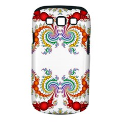 Fractal Kaleidoscope Of A Dragon Head Samsung Galaxy S III Classic Hardshell Case (PC+Silicone)