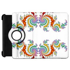 Fractal Kaleidoscope Of A Dragon Head Kindle Fire Hd 7