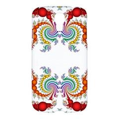Fractal Kaleidoscope Of A Dragon Head Samsung Galaxy S4 I9500/I9505 Hardshell Case