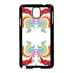 Fractal Kaleidoscope Of A Dragon Head Samsung Galaxy Note 3 Neo Hardshell Case (black)