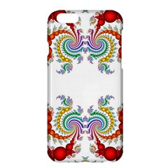 Fractal Kaleidoscope Of A Dragon Head Apple Iphone 6 Plus/6s Plus Hardshell Case