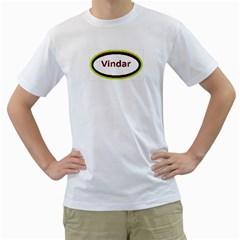 vindar Men s T-Shirt (White)