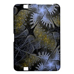 Fractal Wallpaper With Blue Flowers Kindle Fire Hd 8 9