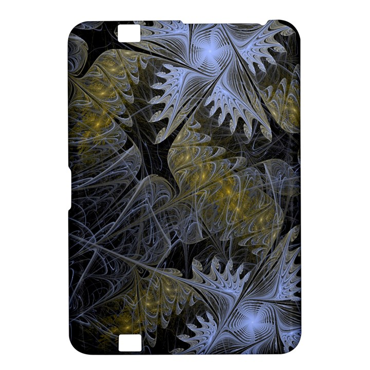Fractal Wallpaper With Blue Flowers Kindle Fire HD 8.9