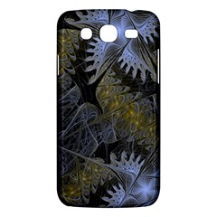 Fractal Wallpaper With Blue Flowers Samsung Galaxy Mega 5 8 I9152 Hardshell Case