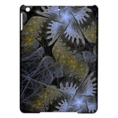 Fractal Wallpaper With Blue Flowers Ipad Air Hardshell Cases