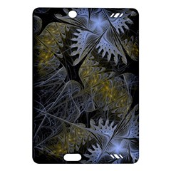 Fractal Wallpaper With Blue Flowers Amazon Kindle Fire Hd (2013) Hardshell Case