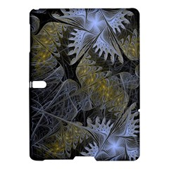 Fractal Wallpaper With Blue Flowers Samsung Galaxy Tab S (10.5 ) Hardshell Case
