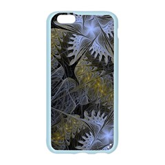Fractal Wallpaper With Blue Flowers Apple Seamless iPhone 6/6S Case (Color)
