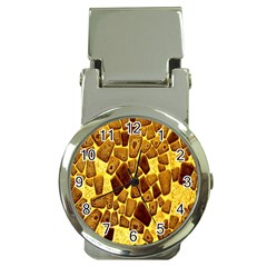Yellow Cast Background Money Clip Watches
