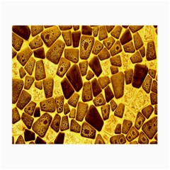Yellow Cast Background Small Glasses Cloth (2 Side)