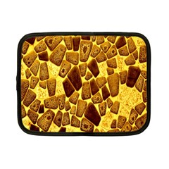 Yellow Cast Background Netbook Case (small)