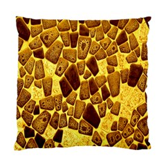 Yellow Cast Background Standard Cushion Case (two Sides)