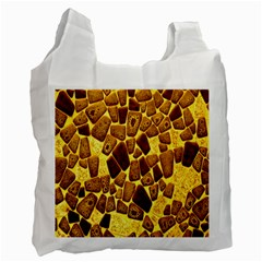 Yellow Cast Background Recycle Bag (two Side)