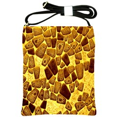 Yellow Cast Background Shoulder Sling Bags
