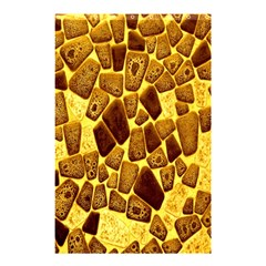 Yellow Cast Background Shower Curtain 48  x 72  (Small)