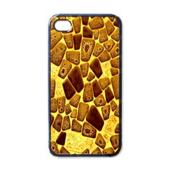 Yellow Cast Background Apple Iphone 4 Case (black)